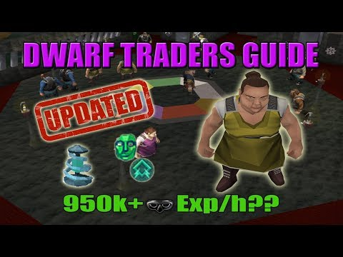 [Runescape 3] Updated Dwarf Traders Guide 2018 | 950k+ Thieving Exp/h??