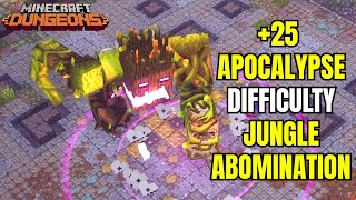 Apocalypse +25 Difficulty Jungle Abomination / Minecraft Dungeons Overgrown Temple Apocalypse +25