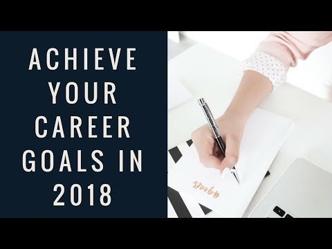 Career Girl Rules to Achieve Your Goals in 2018