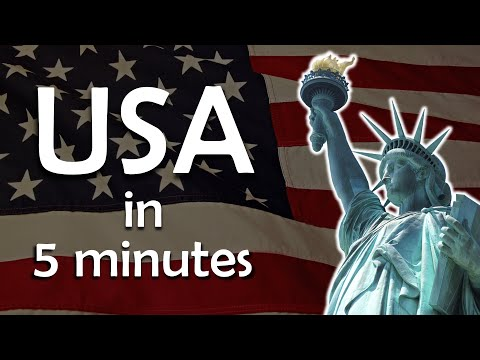 USA In 5 Minutes - Learn More About The United States Of America