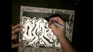 Requested by - (OMER) - Drawing graffiti -  (speed Drawing)