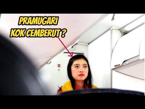 PRAMUGARI kok Cemberut ? Wings Air Bima to Lombok