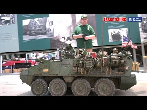 STRYKER Armoured Personnel Carrier GIANT 1:6 SCALE RC United States of America APC [UltraHD & 4K]