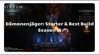 Diablo 3 - Dämonenjäger: Starter & Best Build für Season 15 (Multischuss)