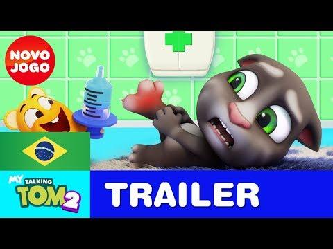 Você Consegue Lidar com o Meu Talking Tom 2 Trailer  2 do NOVO JOGO