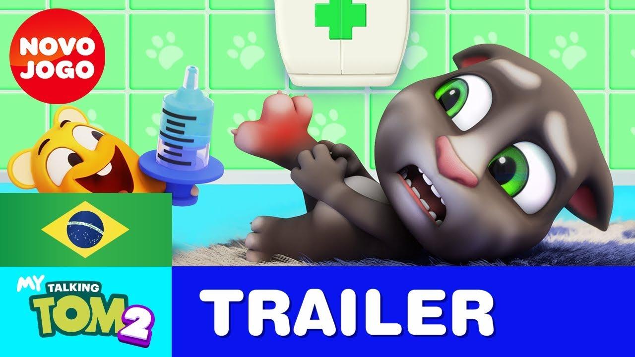 Você Consegue Lidar com o Meu Talking Tom 2! Trailer Oficial 2 do NOVO JOGO