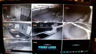 Q-see night time IR Video quality