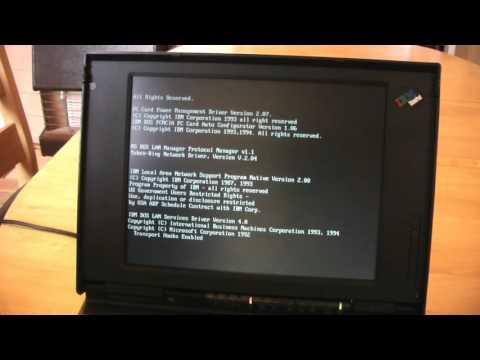 IBM ThinkPad 755C Laptop from 1994