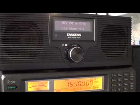 Sangean WFR-20 Internet radio review