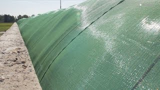 Agritec® Silage Safe | New tensioning system for fast, efficient covering of silage
