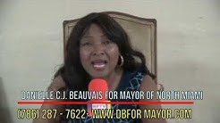 DANIELLE BEAUVAIS FOR MAYOR 2019 @ NORTH MIAMI
