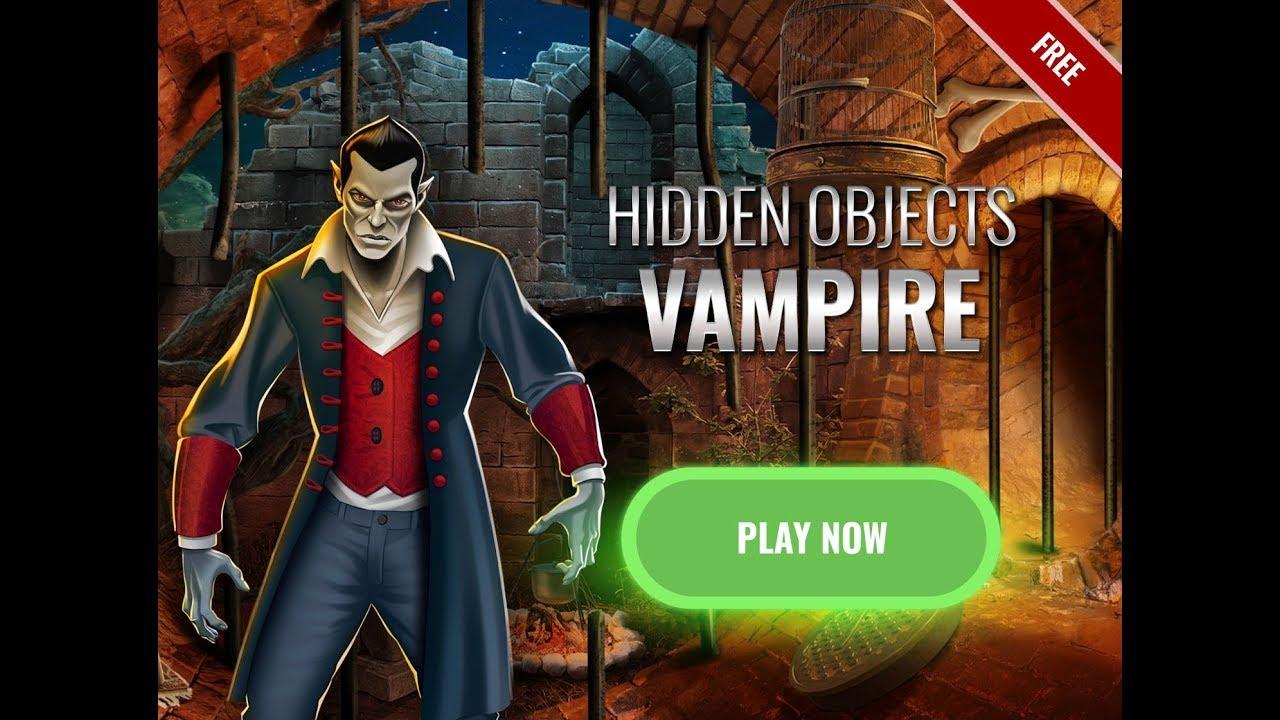 Vampire Castle Hidden Object Horror Game Best Seek and ...