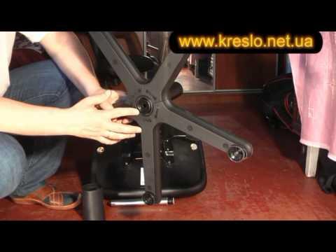 Как поменять газлифт на кресле видео