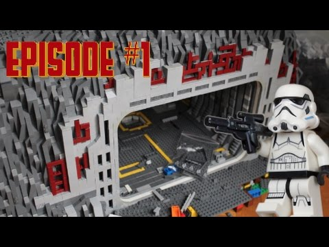 lego star wars deutsch basis bauen 1 der anfang youtube. Black Bedroom Furniture Sets. Home Design Ideas