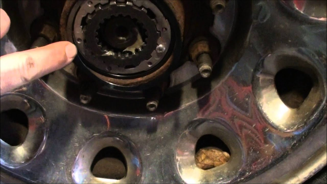 Ford F 350 Front Hub Replacement Youtube