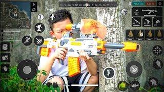 ( Phim Ngắn) Free Fire: Trận Chiến Súng Nerf - Phiên Bản Con Nít - NCT Vlogs.