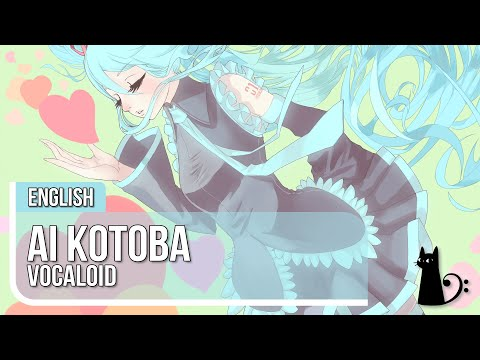 """Ai Kotoba"" (Vocaloid) English Cover by Lizz Robinett"