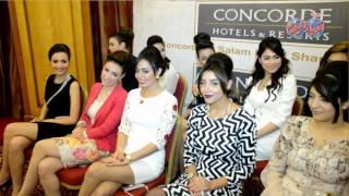 بالصور والفيديو.. مؤتمر صحفي للإعلان عن تفاصيل ملكة جمال الأرض 2015