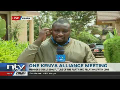 One Kenya Alliance members meet to discuss future of the party and relations with ODM