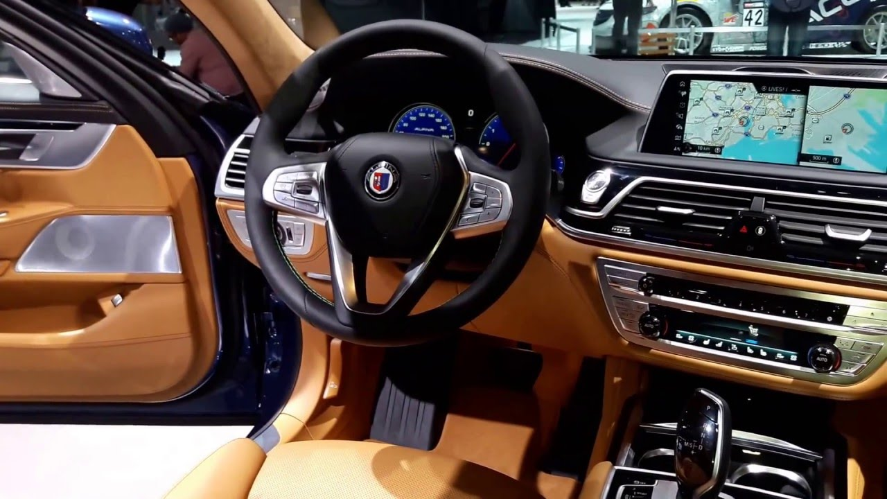 2017 BMW Alpina B7 Interior Walkaround 2016 New York Auto Show - YouTube