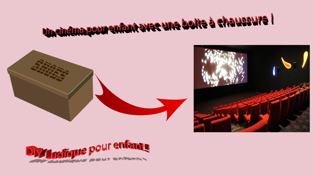 tuto kid: faire un cinéma avec une boite à chaussure ! (sans filmora