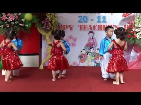 Vũ điệu múa Mambo - Trường Mầm Non Ades Quận 3