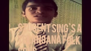 Student Sing`s A Telangana Folk Song   Student , Folk Song   Akkupacha Chandamma Song   Telangana  