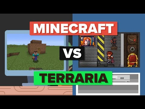 Minecraft vs Terraria - How Do They Compare? Video Game Comparison