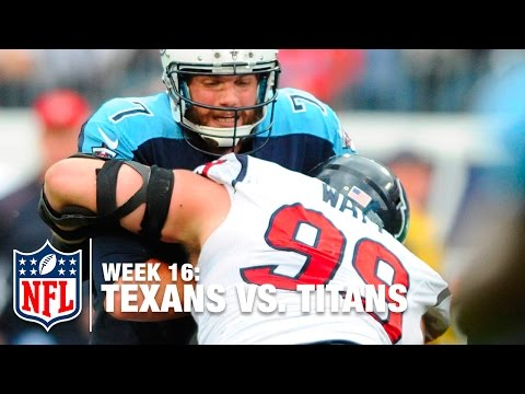 J.J. Watt Makes Crucial Strip Sack in Red Zone & Does a Selfie | Texans vs. Titans | NFL