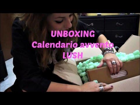 Calendario Dellavvento Lush.Unboxing Da Urlo Calendario Avvento Lush