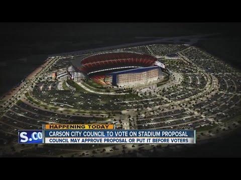 Carson City Council voting on $1.7B stadium