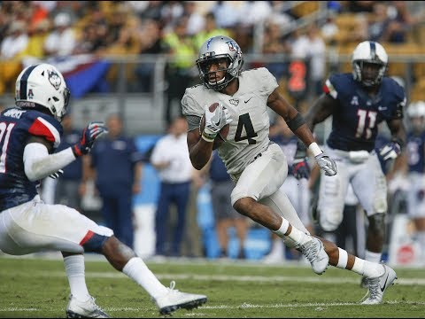 Football Highlights - #18 UCF 49, UConn 24