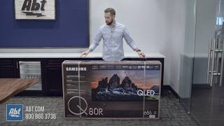 Unboxing The Samsung Q80R QLED Series TV - QN65Q80R