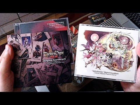 Ausgepackt! #79 ~ Tactics Ogre, SaGa Frontier & Vagrant Story-Soundtracks (Unboxing)