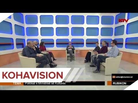 RUBIKON - POLITIKAT E MINISTRISË SË KULTURËS 25.03.2015
