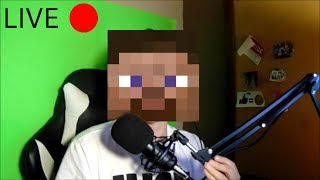 streaming minecraft until i take damage... COME AND JOIN!