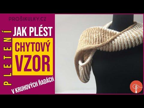 Tutorial: Brioche stitch - how to knit one below and purl one below - knittin...