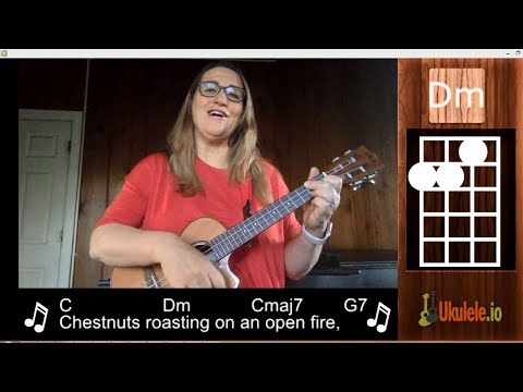The Christmas Song - Chestnuts Roasting on an Open Fire Beginner Ukulele Tutorial - 21 Ukulele Songs