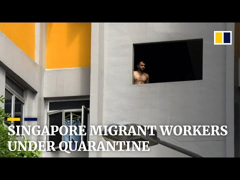 Singapore migrant workers under quarantine as coronavirus hits dormitories