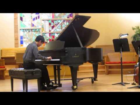 Prodigy performer recital - Eric Phan