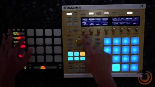 Introduction: Using QuNeo with Native Instruments Maschine
