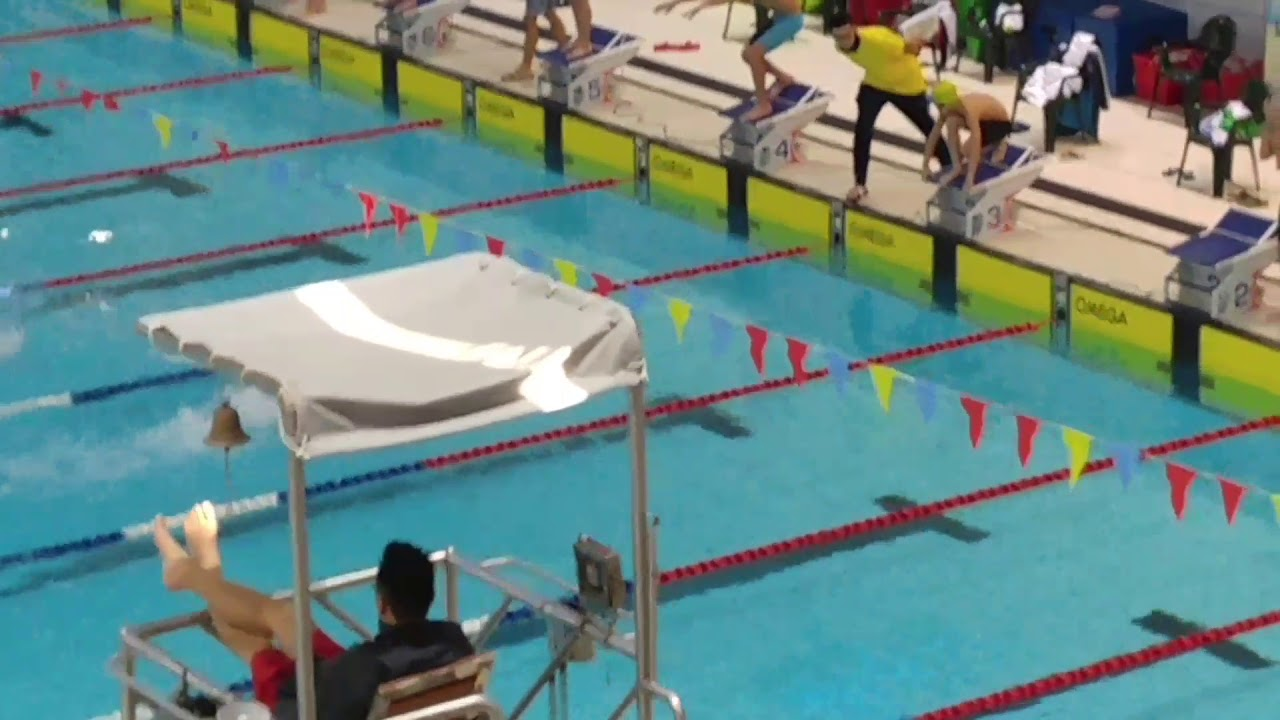 2017小學中西區游泳比賽-男子甲組4x50米自由式接力 (聖公會聖彼得小學) - YouTube