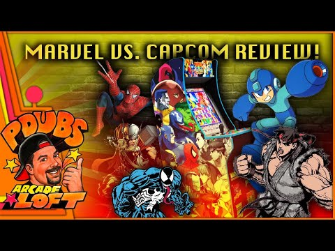 Arcade1Up Marvel Vs. Capcom Cabinet Review!  FINALLY! A Homerun by Arcade1Up?!?! from PDubs Arcade Loft
