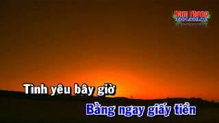 Tinh va Tien Karaoke - Jimmy Nguen