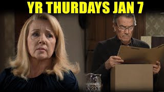 The Young and the Restless 1/7/21 Full || Y&R 7th Thurday January 2021 Full Episode