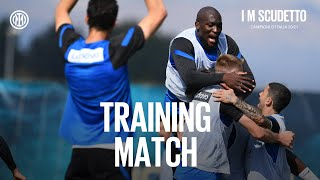 INTER vs... INTER | TRAINING MATCH | A match between the Serie A Champions ⚫🔵🇮🇹 #IMScudetto #IMInter
