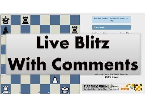 Blitz Chess #2058 with Live Comments Reti Gambit vs GM sk99zt S Krivoshey with White
