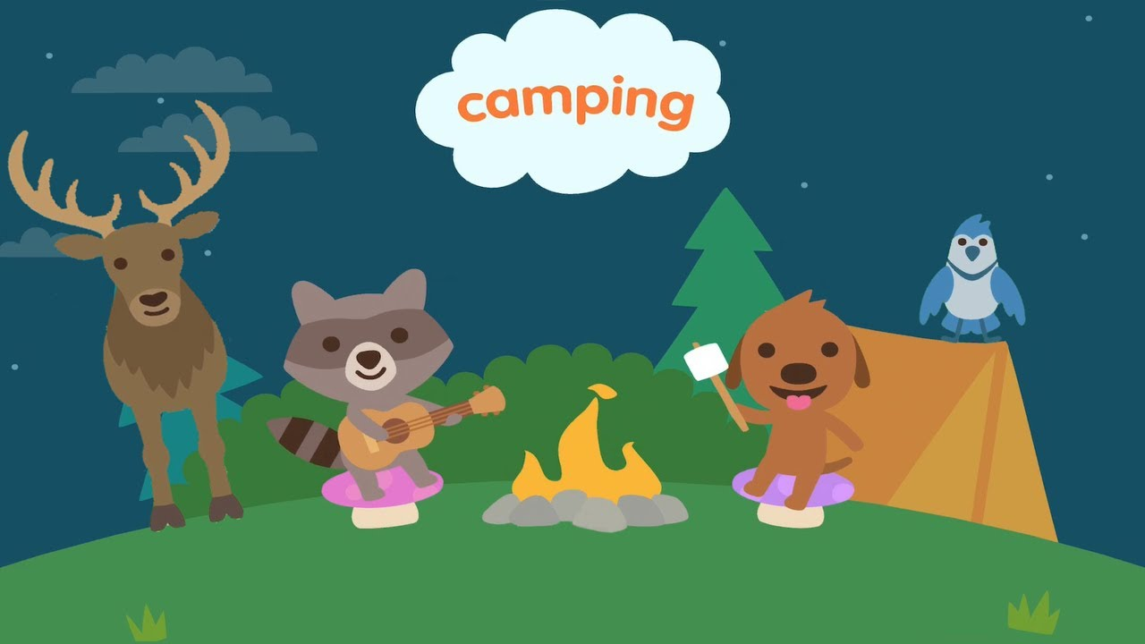 Sago Mini World Camping, Pack Your Bags,Go Camping, Meet Cute Animals, Fun Games for Toddlers & Kids
