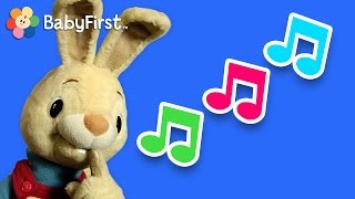 What is it? Singing | Harry the Bunny | BabyFirstTV
