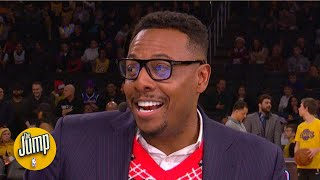 Paul Pierce admits 'my mind wasn't always there' during Christmas Day games | The Jump
